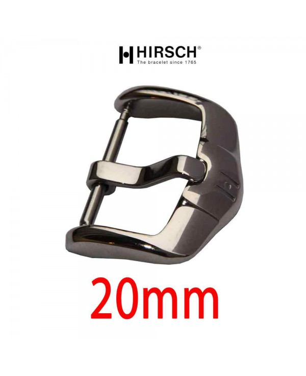 Buckle Hirsch 20mm ACTIVE  stainless steel