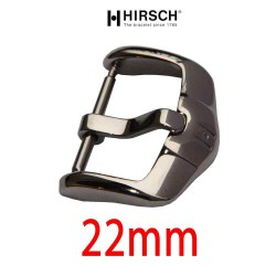 Buckle Hirsch 22mm ACTIVE stainless steel