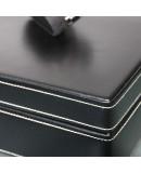Watch Box black leather for 10 watch Friedrich