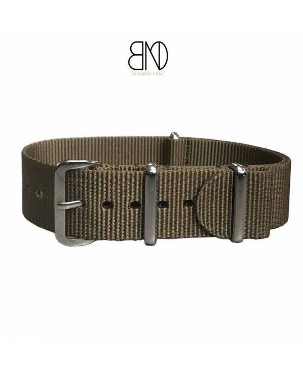 Bracelet de montre NATO 20mm KAKI militaire
