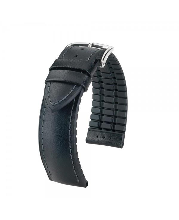 bracelet cuir noir 22mm
