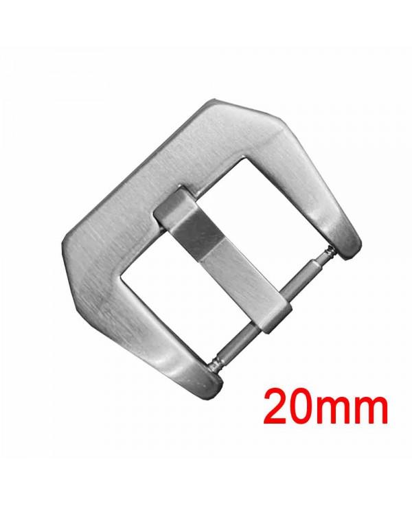 20 mm haute qualité HEAVY DUTY Swiss 316 L acier inoxydable Boucle pour PANERAI Brosse 20 mm Carré