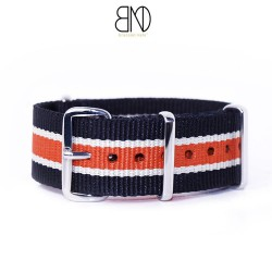 NATO Black Beige Orange 20mm