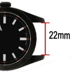 James3 Watch Roll black leather for 3 watch