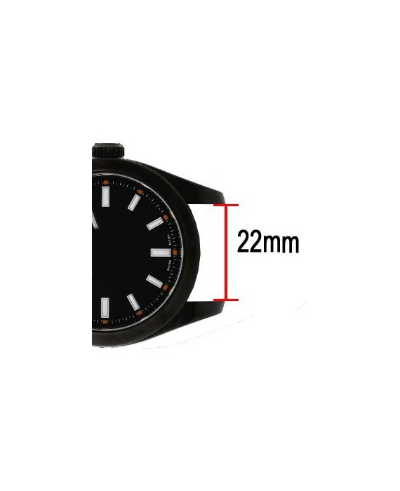 President3 Leather watch box for 3 watch black and red