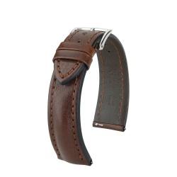 Quick release systeme attache rapide inclus sur ce bracelet. bracelet hirsch lucca 22mm