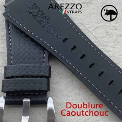 bracelet bell ross waterproof carbone noir