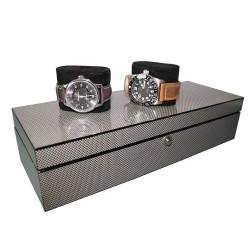 Boite 5 montres Cool Carbon
