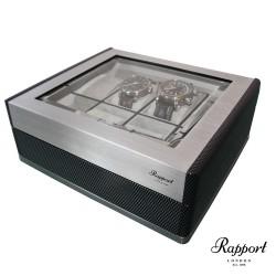 Promo coffret 8 montres F3 Carbone Aluminium brossé Rapport London