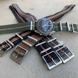 NATO CONCEPT black beige 20mm watch bracelet nato strap