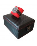 Carbon watchbox black and red Friedrich 4 watch