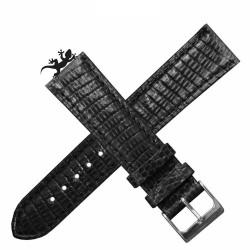 Bracelet lezard KOMODO AREZZO noir18mm