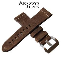 Arezzo Strap HORSEMAN 22mm Nubuck de Cheval Naturel