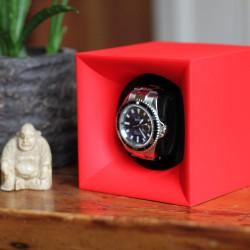 Swiss Kubik watchwinder StartBox Red
