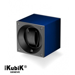 Watchwinder Swiss Kubik Single Original Navy Blue