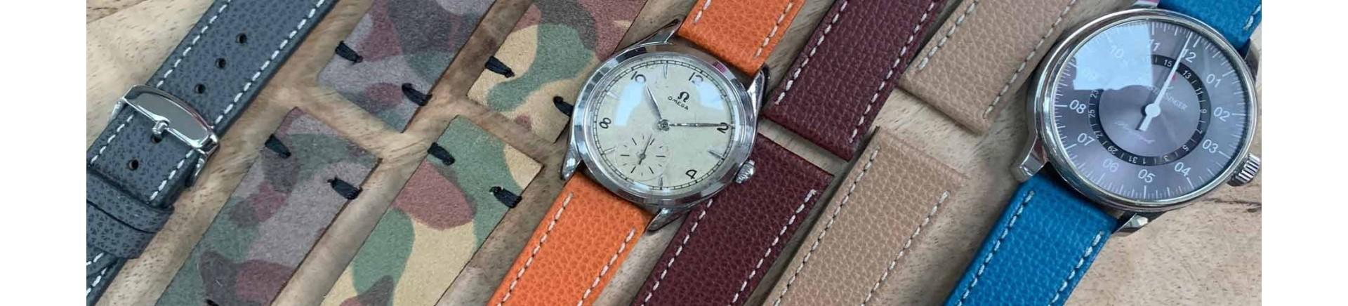 bracelets de montre homme cuir exclusif