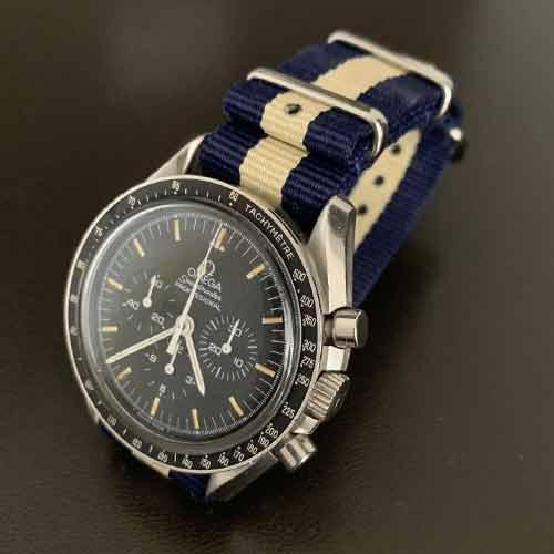omega speedmaster sur bracelet nato