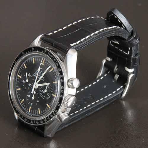 bracelet montre crocodile arezzo straps