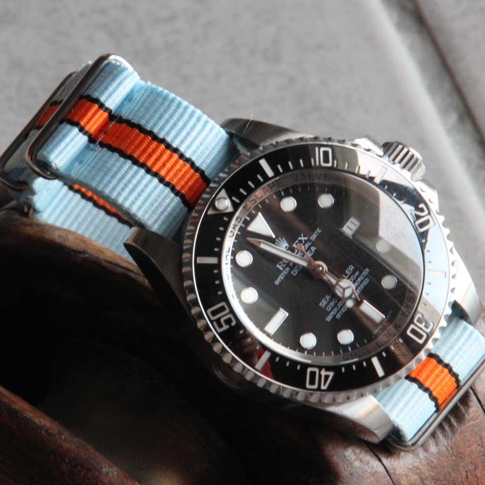 bracelet de montre NATO gulf 20mm
