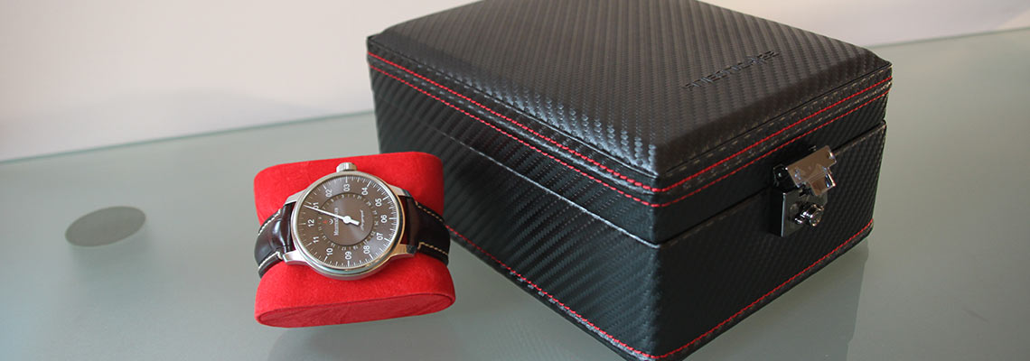 coffret montre friedrich carbon