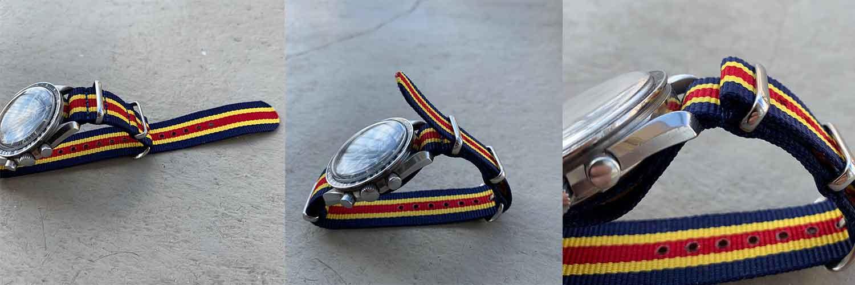 installer un bracelet nato