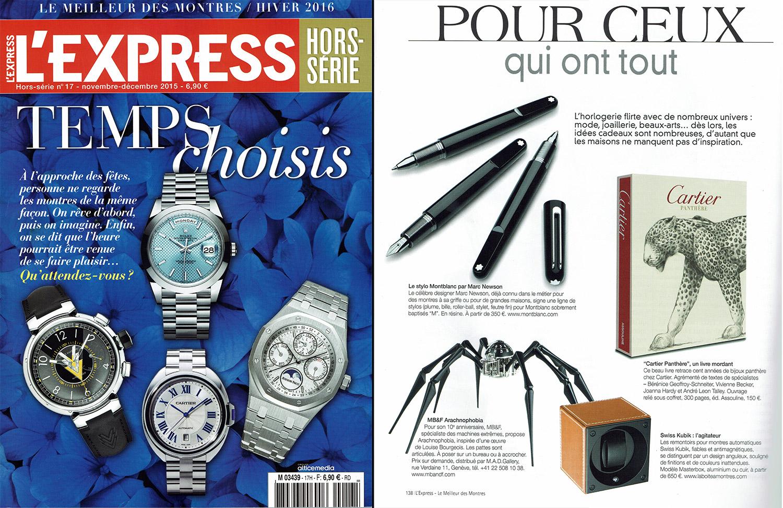 hors série montres express 2015