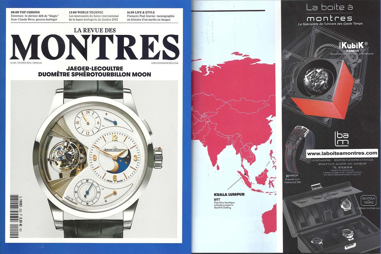 la revue des montres 2015