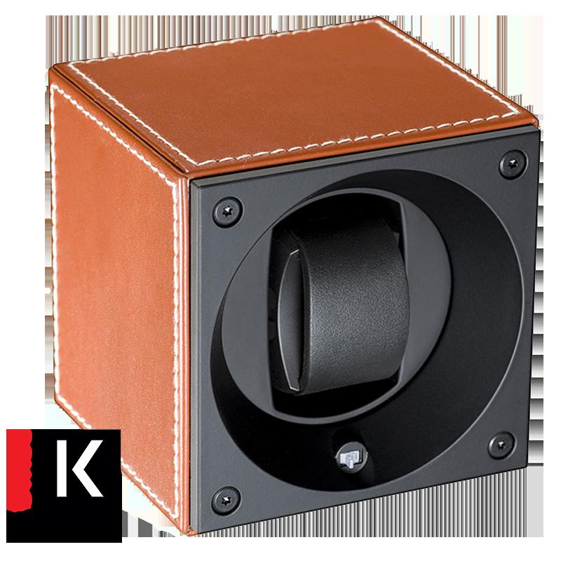 remontoir swiss kubik masterbox cuir